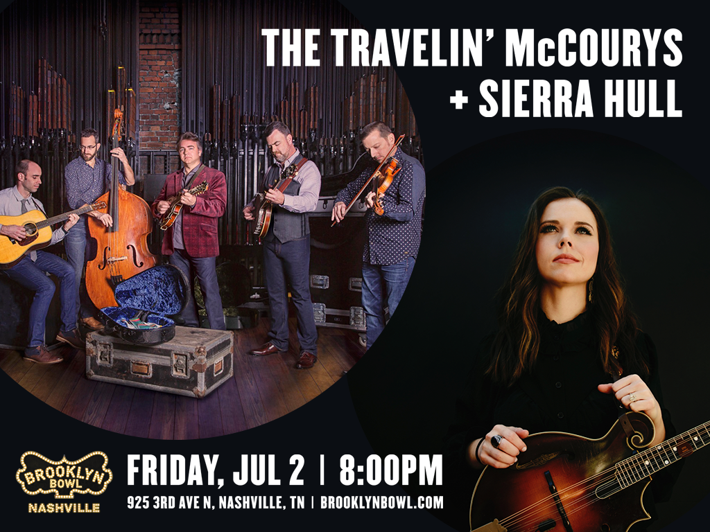 The Travelin' McCourys + Sierra Hull