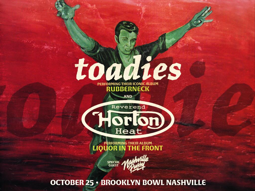 Toadies + Reverend Horton Heat