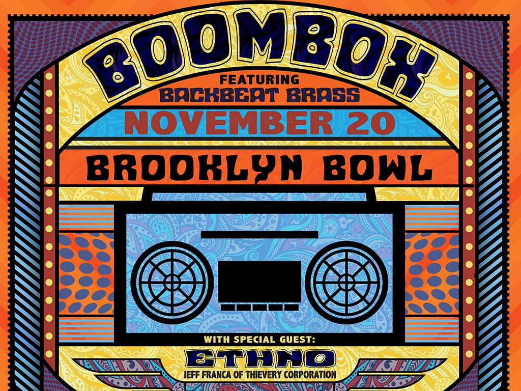 BoomBox ft. BackBeat Brass
