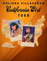 Melissa Villaseñor California Girl Tour