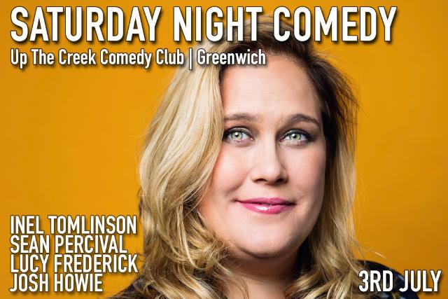 Saturday Night Comedy Sat 03 Jul