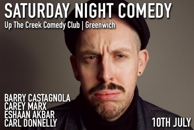 Saturday Night Comedy Sat 10 Jul