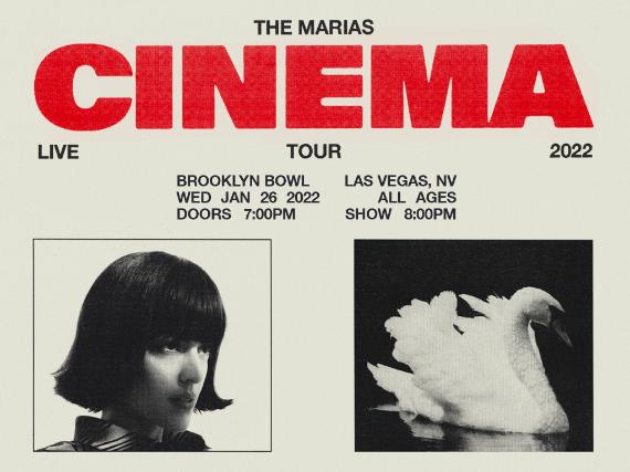 More Info for The Marías Present: CINEMA