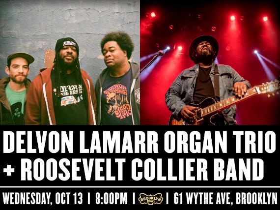 More Info for Delvon Lamarr Organ Trio + Roosevelt Collier Band