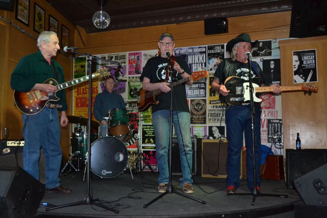 Chuck Bob Carnes The Flat Natural Born Good-Timin Band.