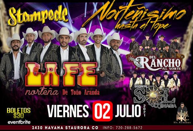 La Fe Norteña at Stampede