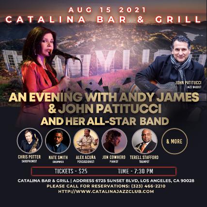 Andy James at Catalina Bar & Grill
