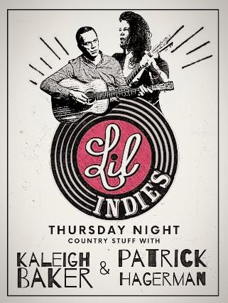 Kaleigh Baker & Patrick Hagerman at Lil' Indies
