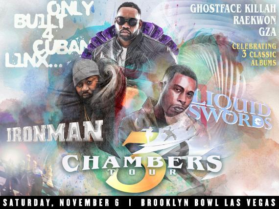 More Info for 3 Chambers Tour: Raekwon x Ghostface x GZA
