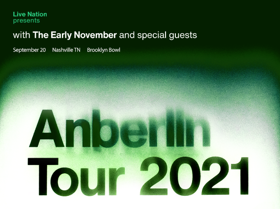 More Info for Anberlin