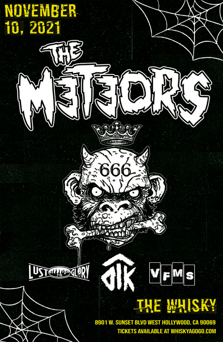 The Meteors, Lust For Glory, Those Damn Kids