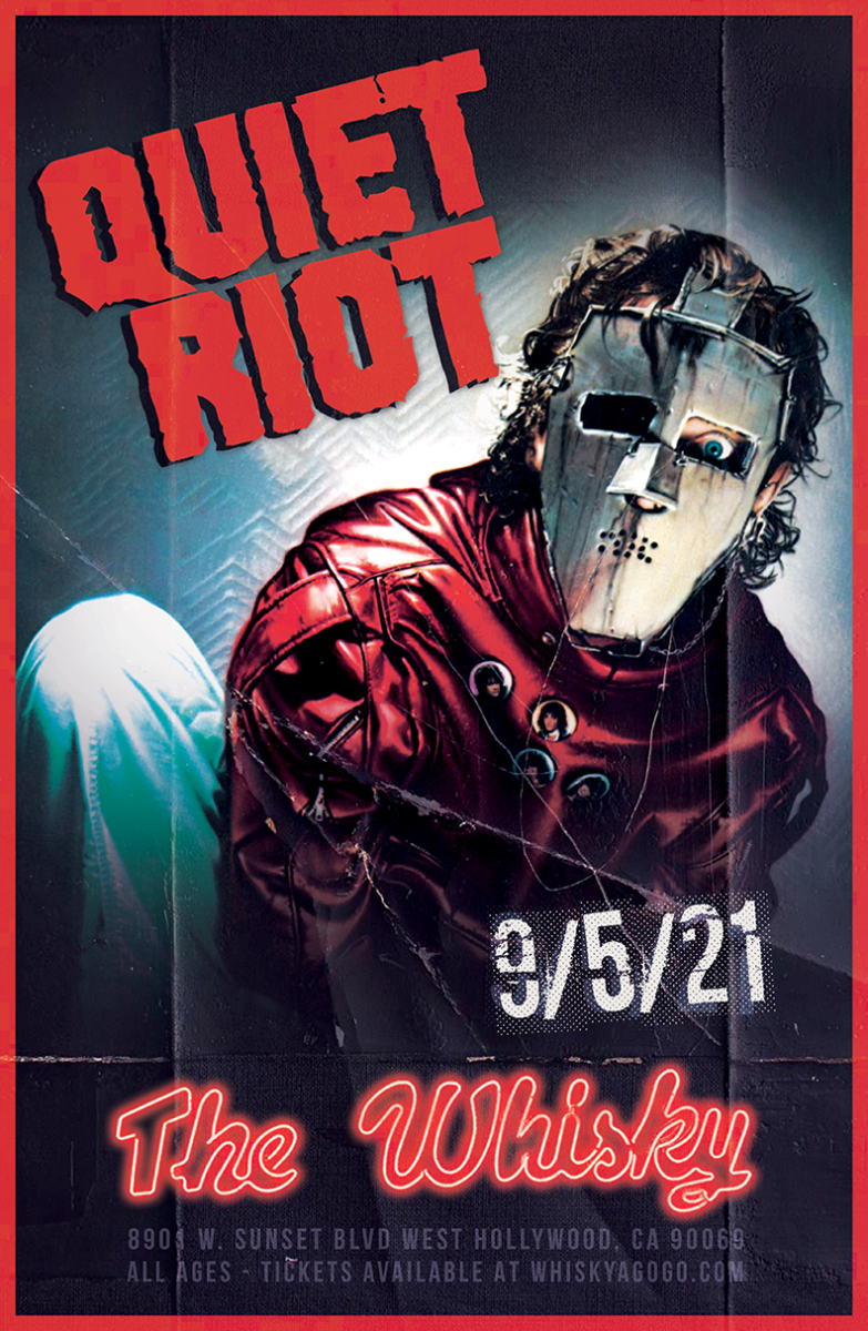 Quiet Riot, Mitch Perry Group, Garden of Eden, Driven By Turmoil, Cannon Hill
