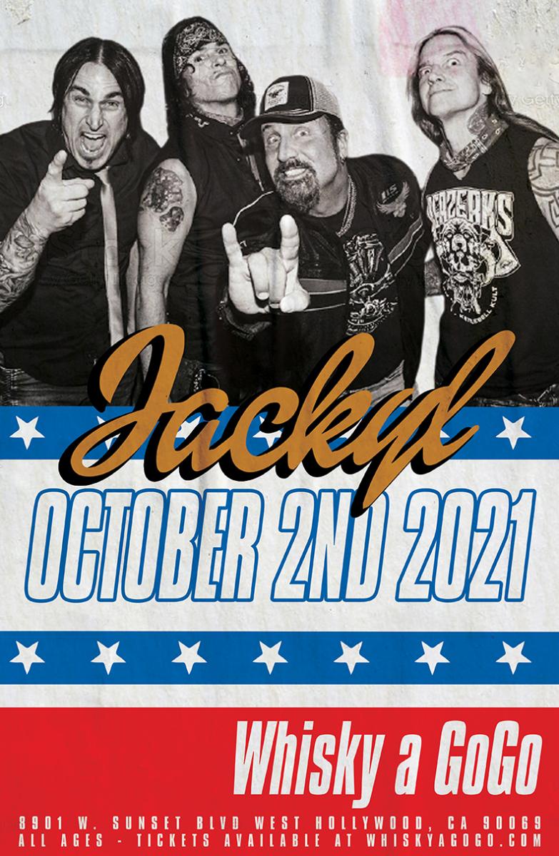 Jackyl, The Hard Way, Tattooed Songbird and the So-Cal Metal Co.