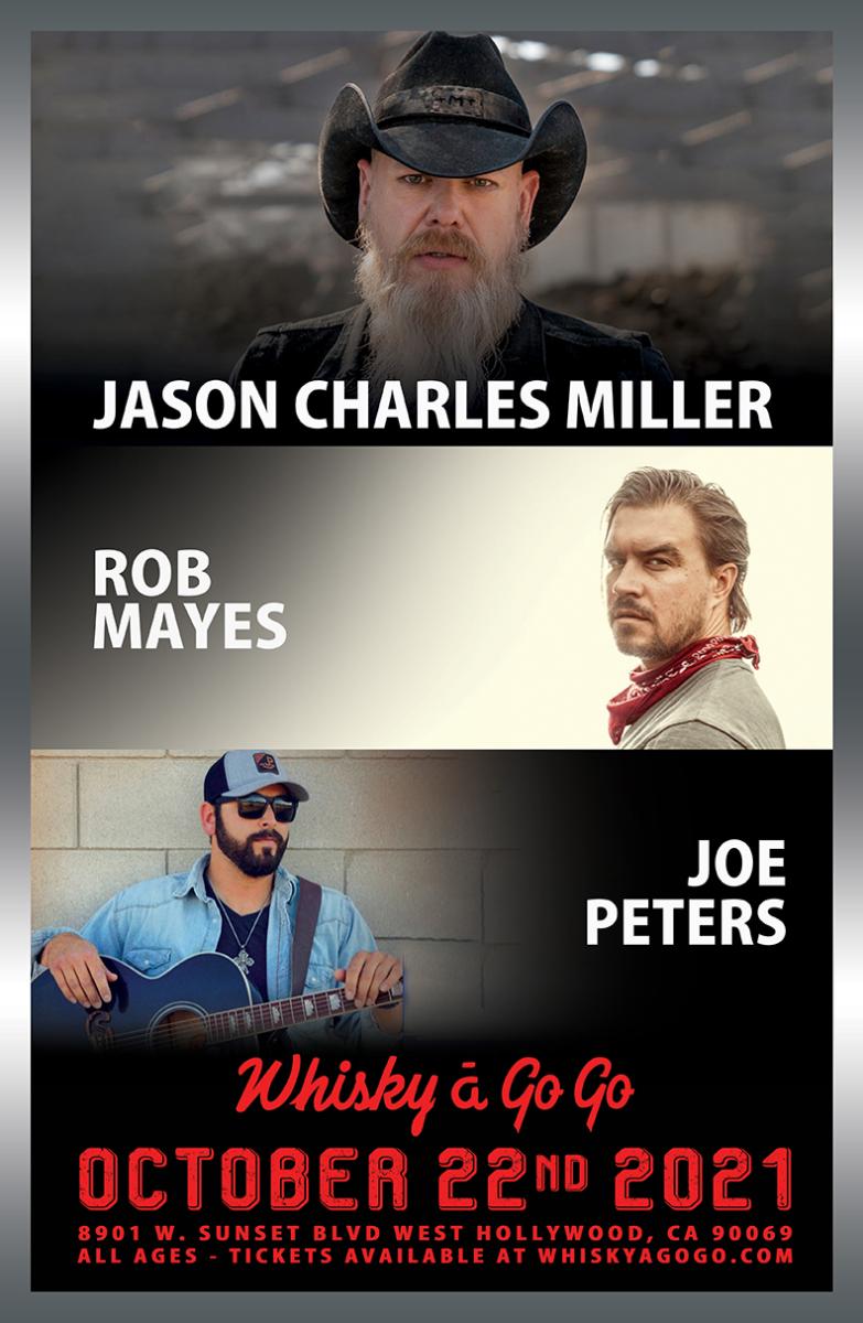 Jason Charles Miller, Rob Mayes, Joe Peters