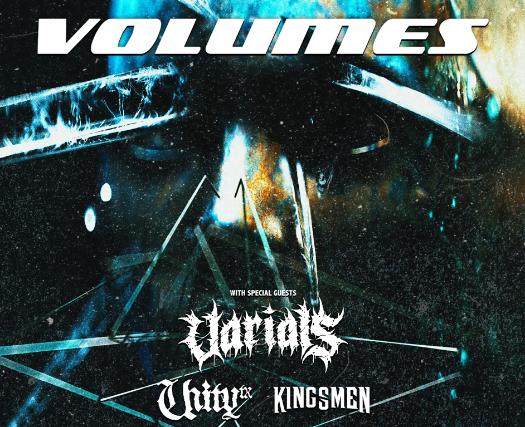 Volumes, Varials, UnityTX in Des Moines