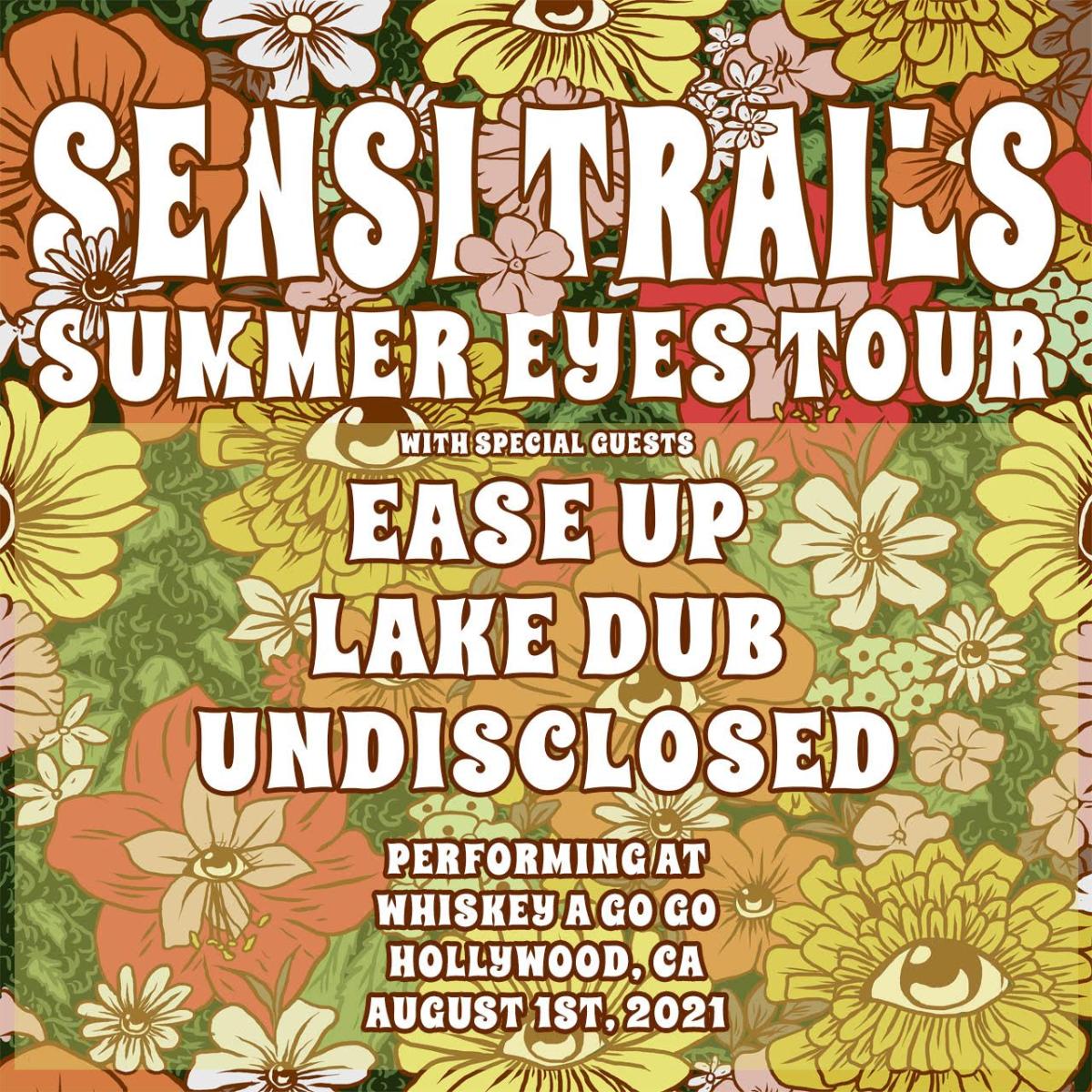 Sensi Trails, Ease Up, Lake Dub, Undisclosed