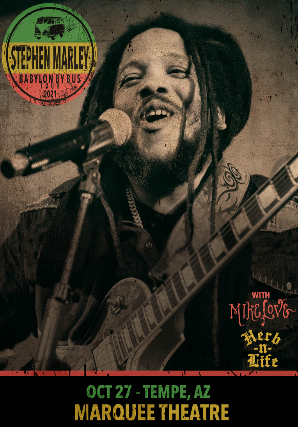 CANCELED Stephen Marley - Babylon By Bus Tour 2021