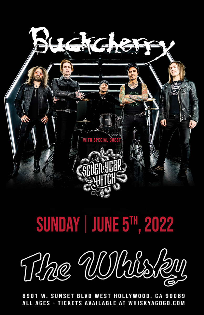 Buckcherry, Blacktop Mojo, Wild Ride, Soldiers of Solace