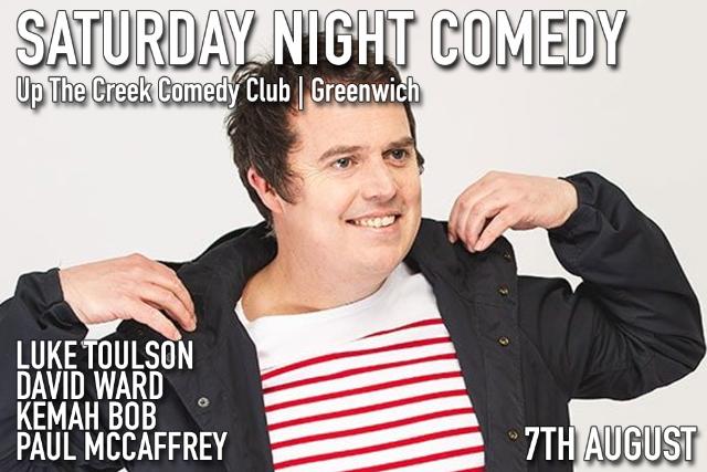 Saturday Night Comedy Sat 07 Aug