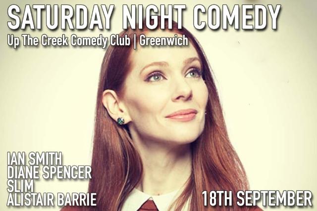 Saturday Night Comedy Sat 18 Sep