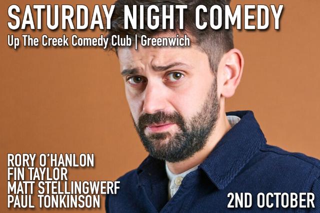 Saturday Night Comedy Sat 02 Oct