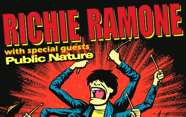 Richie Ramone of The Ramones & Special Guests at Dingbatz