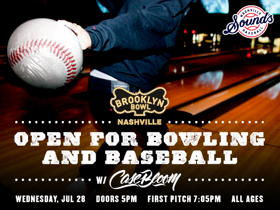 More Info for Open for Bowling and Baseball with DJ Case Bloom