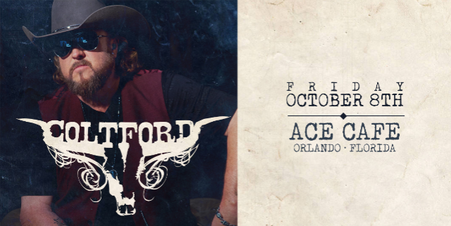 Colt Ford at Ace Cafe