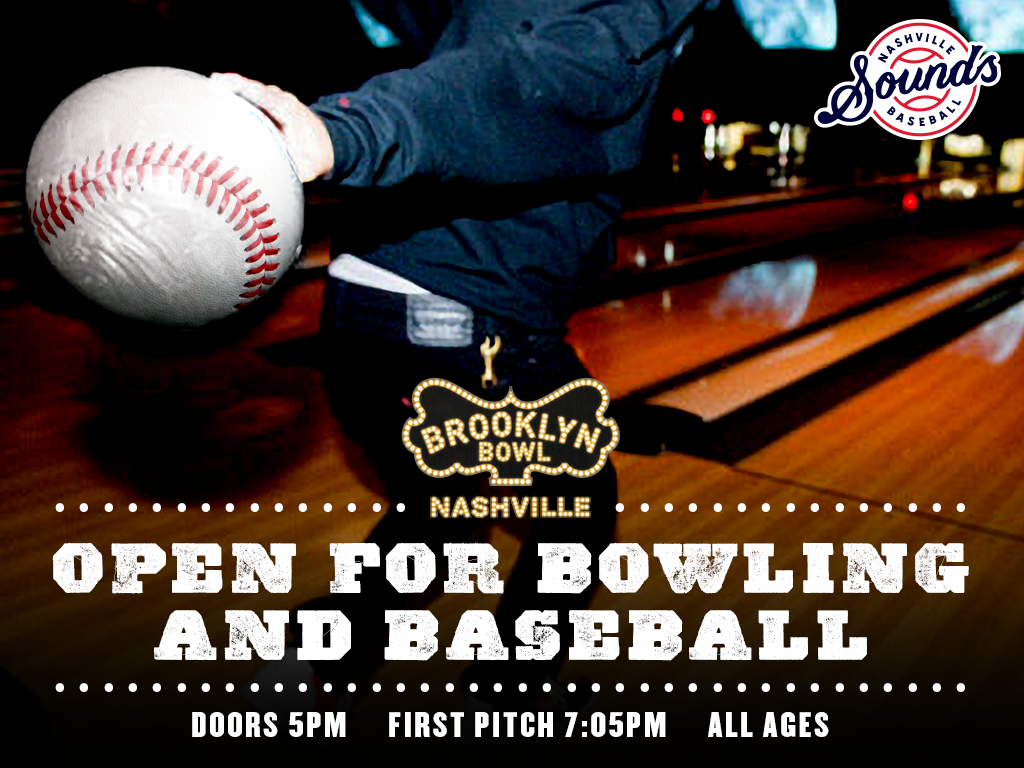 Open for Bowling and Baseball!