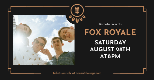FOX ROYALE...presented by JSP Productions at Barnato
