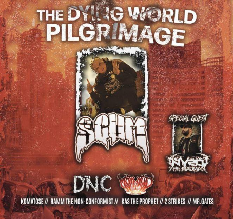 SCUM: The Dying World Pilgrimage at The Omaha Lounge