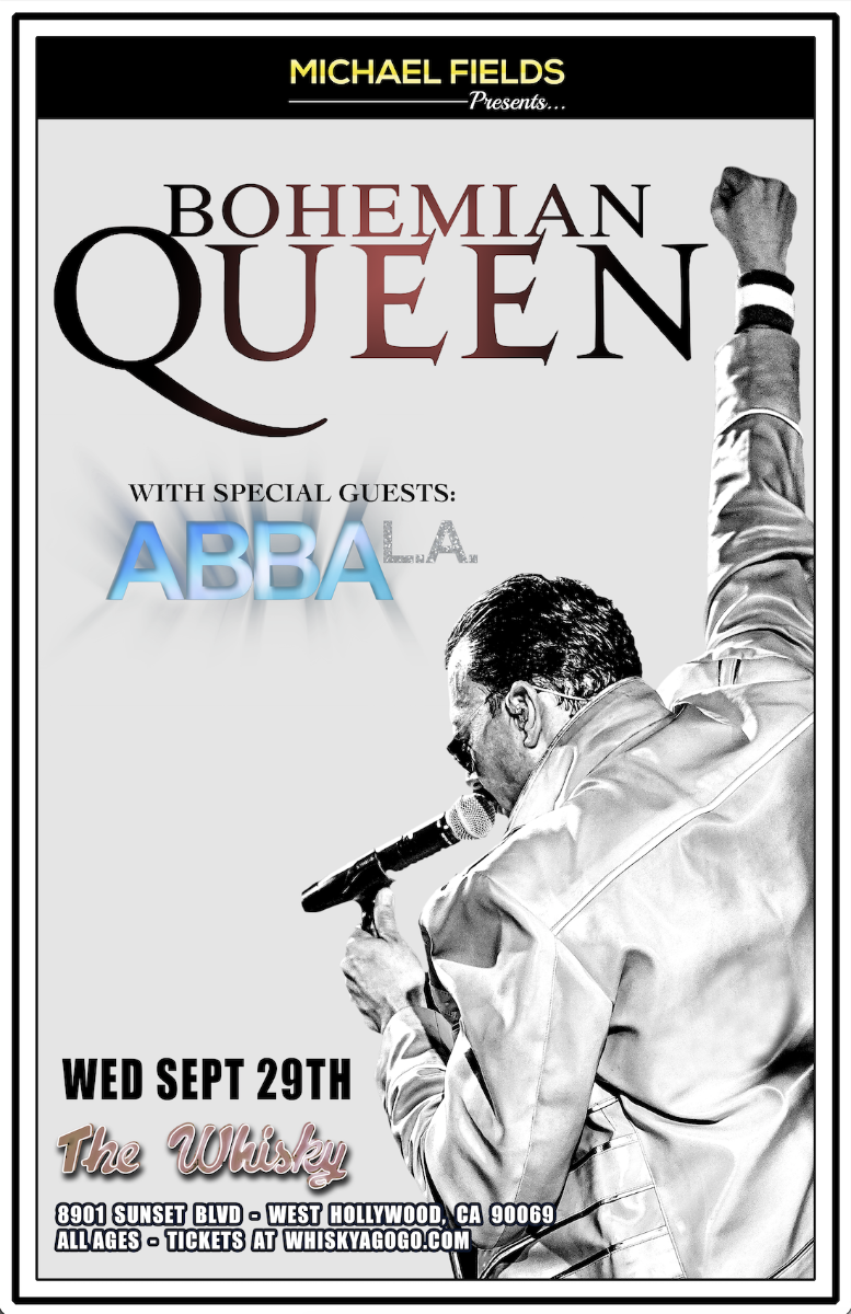 BOHEMIAN QUEEN A Theatrical Tribute to Queen ABBA L.A.