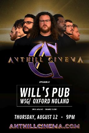 Anthill Cinema + Oxford Nolan at Will's Pub