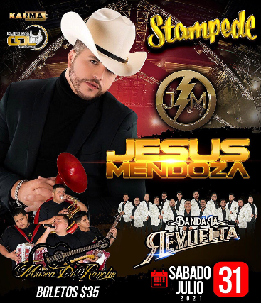 Jesus Mendoza, Marca del Rancho, Banda La Revuelta