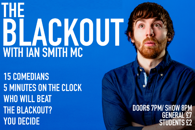 The Blackout Comedy Night Thu 07 Oct