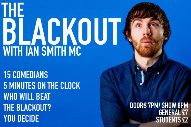 The Blackout Comedy Night Thu 04 Nov