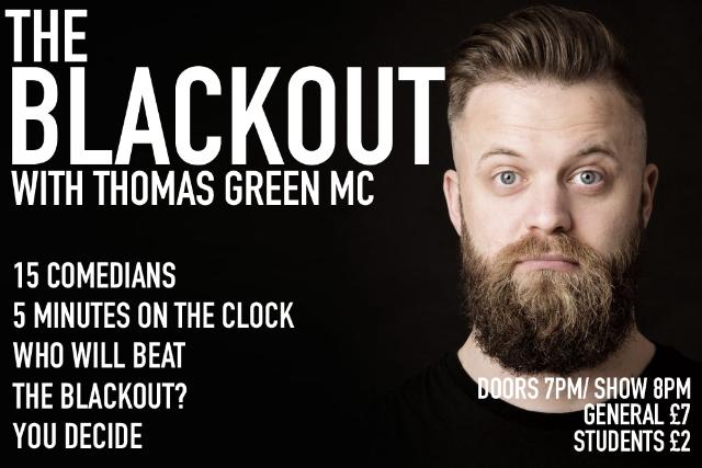 The Blackout Comedy Night Thu 25 Nov