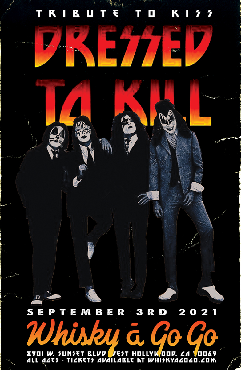 Dressed to Kill: Tribute to KISS, Wikkid Starr, Show Whight, Handsome Karnivore , Altun, Emmy Meli, Synth Fantastic