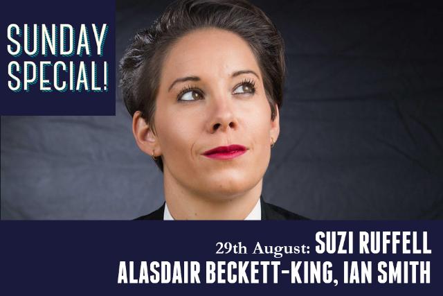 Sunday Special: Suzi Ruffell Sun 29 Aug