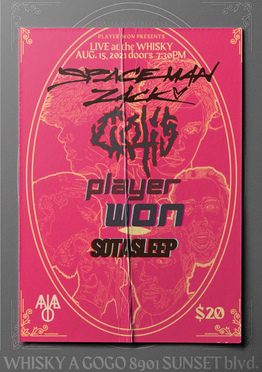 Spaceman Zack, Cotis, Player Won, Sotasleep