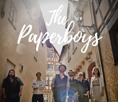 The Paperboys (seated) EARLY