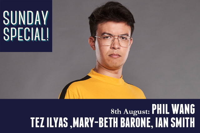Sunday Special: Tez Ilyas, Mary Beth Barone, Ian Smith Sun 08 Aug