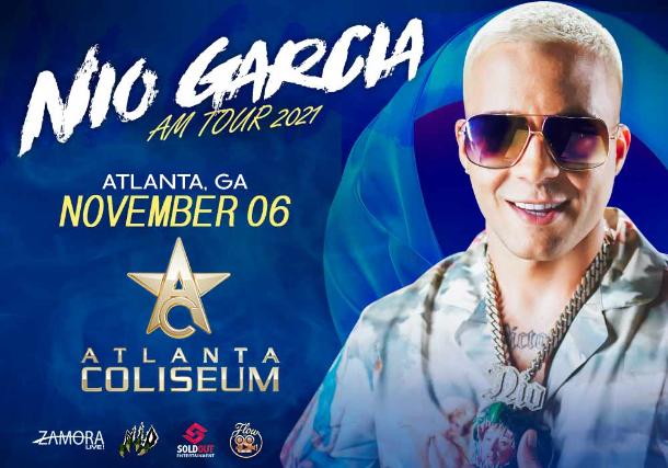 NÍO GARCÍA | AM TOUR at Atlanta Coliseum