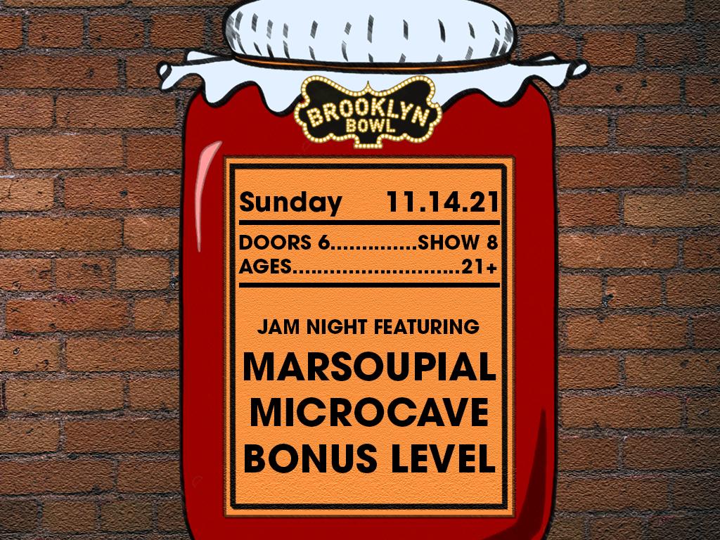 marSOUPial + Microcave + Bonus Level