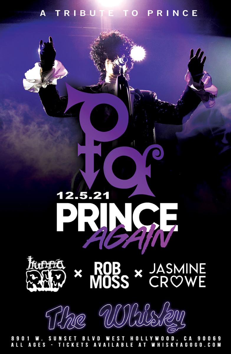 Prince Again (A Tribute to Prince), hunnaRIP