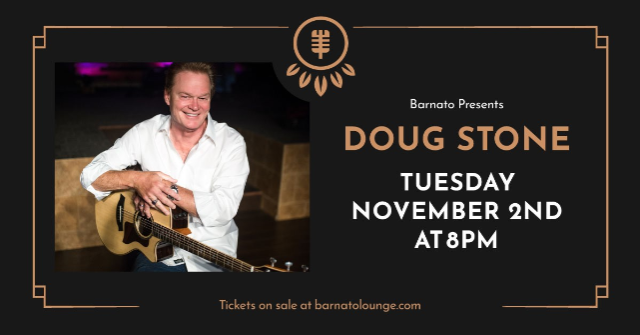 An Evening With DOUG STONE...presented by JSP Productions