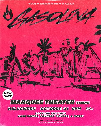 Gasolina Reggaeton Party at Marquee Theatre
