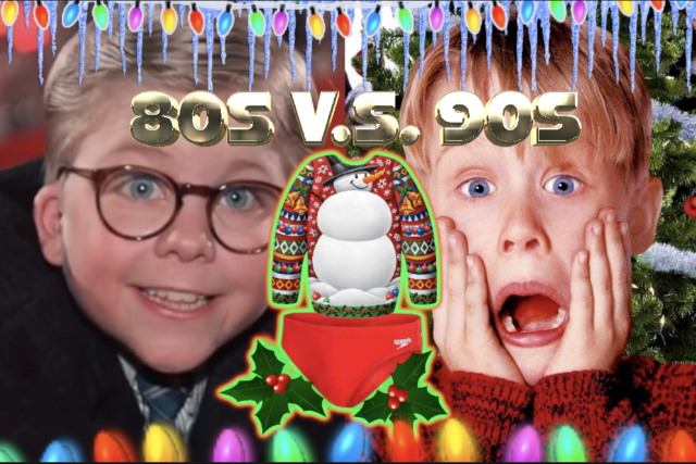 80s vs 90s: Ugly Sweater and Speedo Party at The Magic Bag