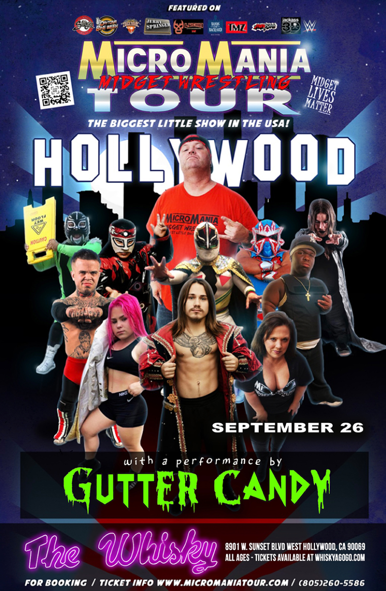 MicroMania Midget Wrestling at Whisky a Go Go