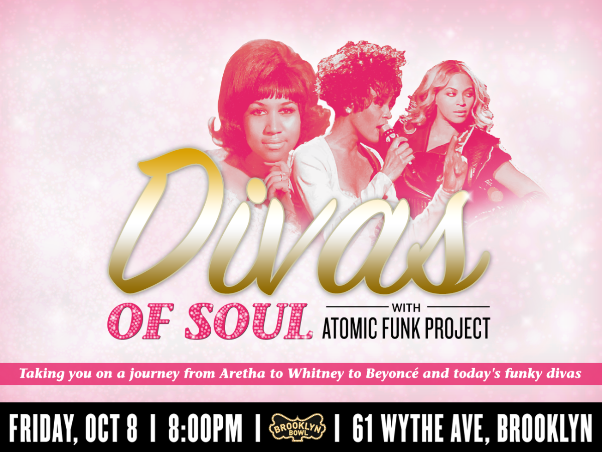Divas of Soul with Atomic Funk Project